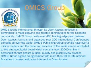 PPT Version - OMICS International