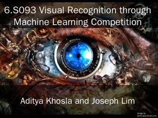 ppt - Visual Recognition Competition