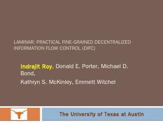 pptx - zweb.cs.utexas.edu - The University of...