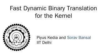 Precise Exceptions - CSE@IIT Delhi