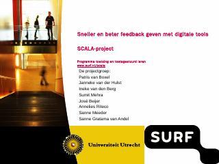 presentatie van het S...