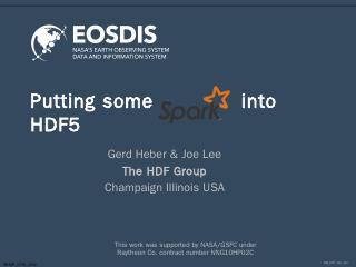 Presentation - HDF-EOS