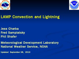 Presentation on LAMP Convection and ... - Nat...