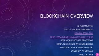 Problem-solving using Blockchain - Department...