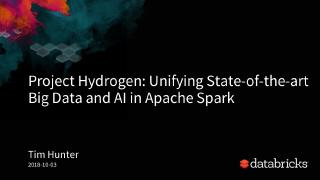 project hydrogen unifying state of the art ai...