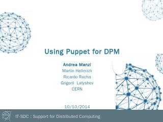 Puppet-dpm - CERN Indico