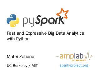 pydata-july-2013 - Apache Spark