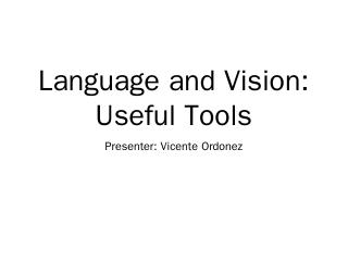 Python NLTK: Wordnet - Tamara L Berg