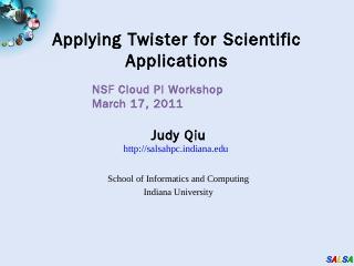 Qiu_Talk.pptx - The Science of Cloud Computing
