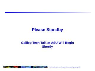 Quark SOC and Galileo Architecture (ESP  Fall...