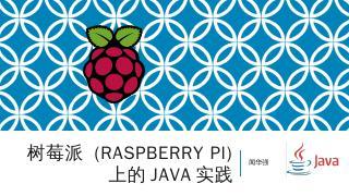 (Raspberry Pi) Java