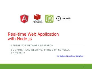 Real-time Web Application with Node.js