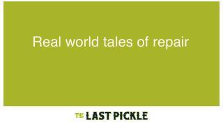 Real world tales of repair - Apache BigData