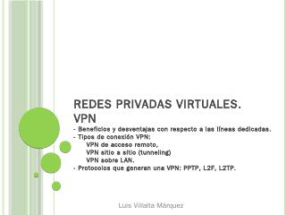 Redes privadas virtuales. VPN - WordPress.com