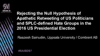 rejecting the null hypothesis of apathetic re...