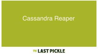 Repairs with reaper paris cassandra meetup