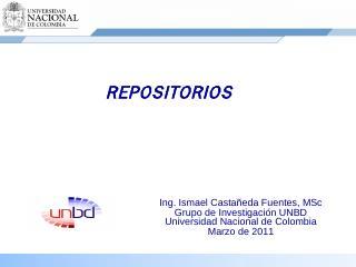 Repositorio Subversion - Universidad Nacional...