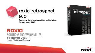 Retrospect - Roxio