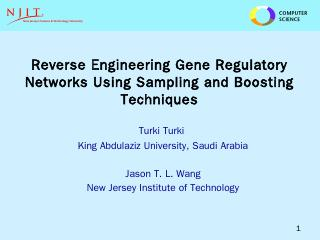 Reverse Engineering Gene Regulatory Networks ...