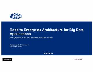 road-to enterprise architecture for big data ...