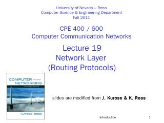 Routing Protocols - Department of Computer Sc...