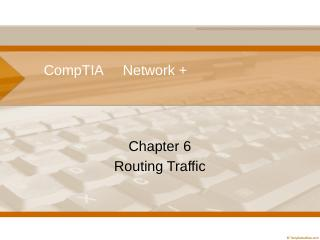 Routing Traffic (PPTX)