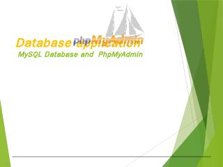 Running SQL queries on a MySQL database using...