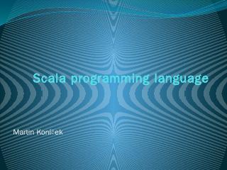 Scala programming language - Artax