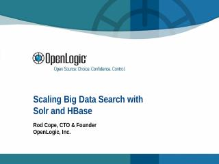 Scaling Big Data Search with Solr and HBase R...