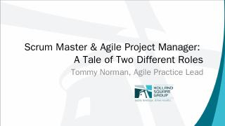 Scrum Masters & Project Managers - PMI Nashville