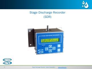sdr-product-presentation.pptx - Sutron Corpor...