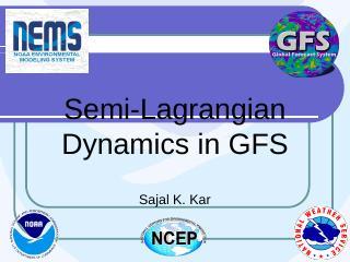 Semi-Lagrangian