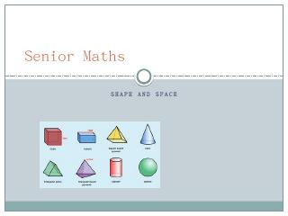 Senior Maths - Scoilnet