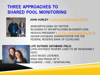 Shared Pool Monitoring ( Avoiding 4031 errors...