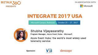 Shubha Vijayasarathy Program Manager, Azure E...