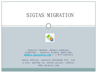 sigtas migration - Inland Revenue Department