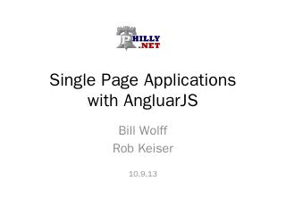 Single Page Applications with AngularJS - phi...