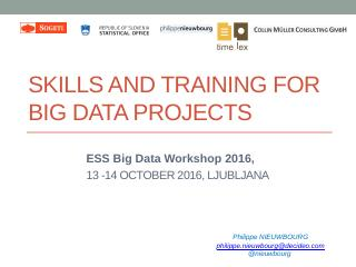 Skills and training needed to conduct big dat...