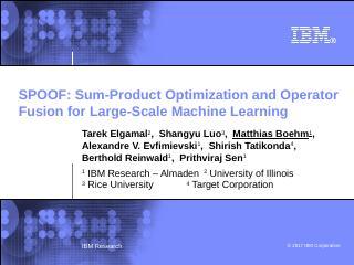 Slide - IBM Research