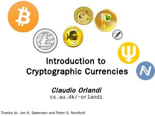 Slides from lecture on Cryptographic Currencies