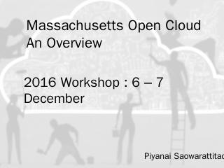 slides - Mass Open Cloud