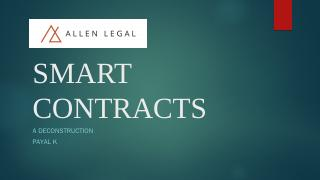 Smart Contracts - WordPress.com