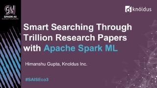 smart searching through trillion of research ...