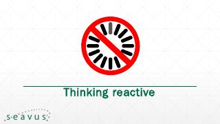 So what is reactive programming? - Jug MK