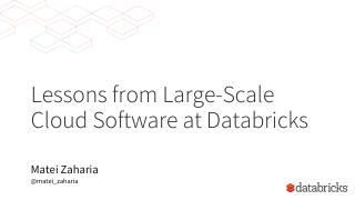 socc-large-scale-cloud-software-databricks