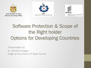 Software and Database Protection - WIPO