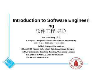 Software Engineering ...
