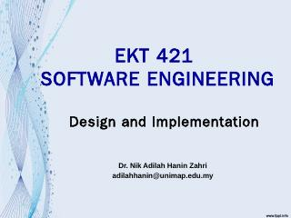 SOFTWARE ENGINEERING Chapter 1  Introduction ...