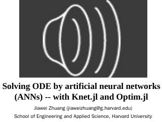 Solving ODE by artificial neural networks wit...