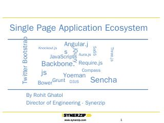 SPA Ecosystem (Single Page Application) - Syn...